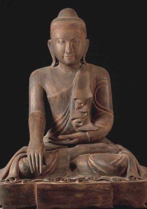Burmese Buddha poster