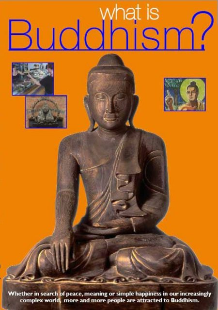 What is Buddhism DVD cover